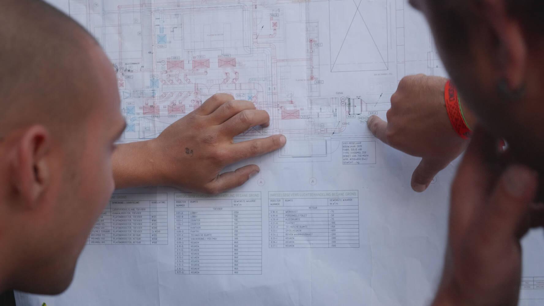 Tekenaar Engineer Werkvoorbereider